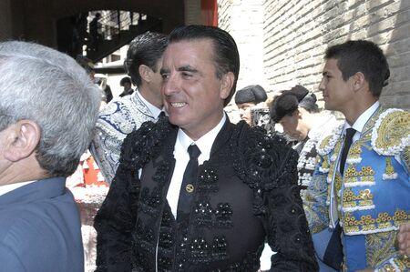 cano: 20070606 - granada - spain - the bullfighter jose ortega cano in the bullring in granada Editorial