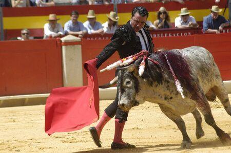 matadors: The bullfighter José Ortega Cano in the bullfight held in Granada on 7 June 2007, at Feria de Corpus
