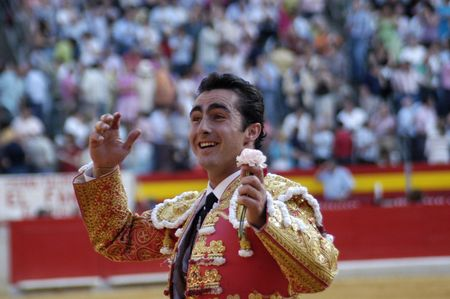david fandila: The bullfighter David Fandila, El Fandi, in the bullfight held in Granada on 7 June 2007, at Feria de Corpus Editorial