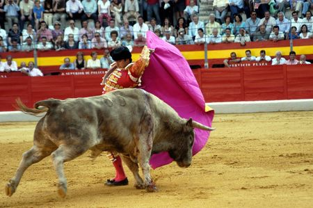 corrida: Le bullfighter, David Fandila, El Fandi, dans la tauromachie tenue � Grenade le 7 juin 2007, � la Feria de corpus Editeur