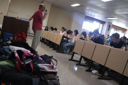 selectivity tests for university entrance, in the faculty of pharmacy at the university of granada 19.6.2007 新聞圖片