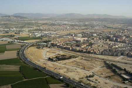 Aerial view of the Granada ring photo