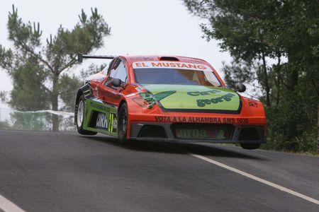 Enrique Cirre, rally driver in the rise of Cortegada (Galicia) Spain on 27/05/2007 Stock Photo - 6897307