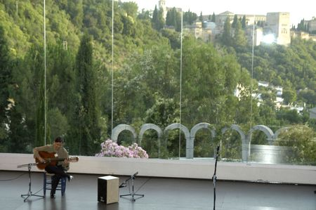 cano: music show with guitarist jos� manuel cano, in the events in honor of san cayetano de thienne, managers of the college of granada, jaen and almeria, in the grounds of the chumbera of granada, 06.07.2007 Editorial