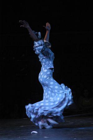 bailando flamenco: 2007, 06, 25-Granada Espa�a - tradicional Zambra del Sacromonte, basado en el ritual de Boda gitana, bajo la direcci�n de Albaic�n Curro, en la Plaza de las Pasiegas de Granada, dentro del FEX de flamenco  Editorial