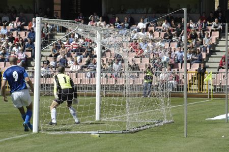 20100404 - Granada - Spain - Soccer match between FC Granada and Melilla Editorial