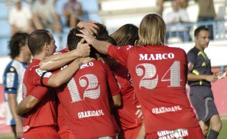 20070901 - Motril - Granada - Spain - Football game between the Granada 74 and Hercules Alicante, in the stadium Escribano Castilla Motril