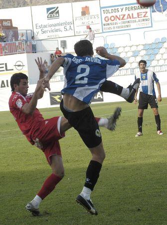 20070901 - Motril - Granada - Spain - Football game between the Granada 74 and Hercules Alicante, in the stadium Escribano Castilla Motril Editorial