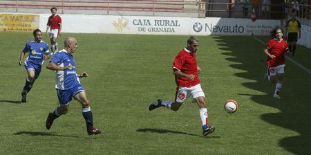 20070902 - Granada - Spain - Soccer match between the Granada 74 and Vera