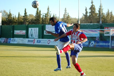20070212- Baza - Granada - Spain - Football game between Baza and Linares