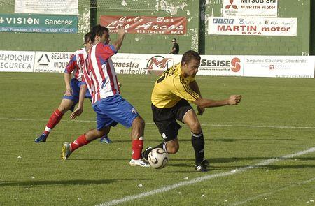 20070923- Baza - Granada - Spain - Football game between Baza and Ceuta Editorial