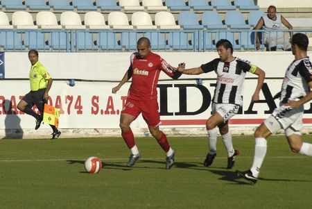 20071006- Motril - Granada - Spain - Football game between the Granada-74 and Castellón