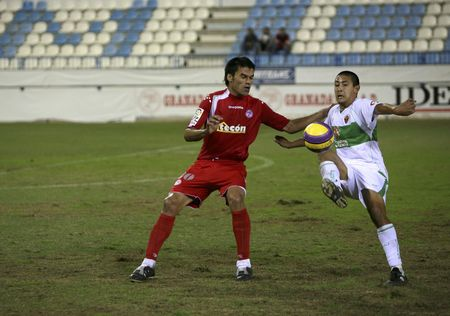 motril: 20071103- Motril - Granada - Spain - Football game between the Granada-74 and Elche