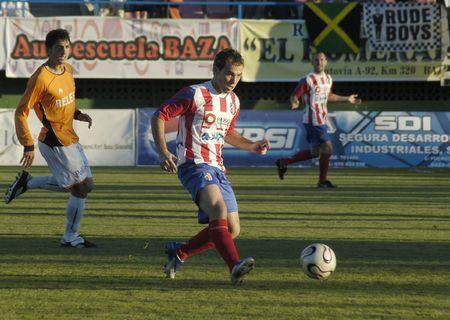 20071202- Baza - Granada - Spain - Football game between Baza and the Cartagena Editorial