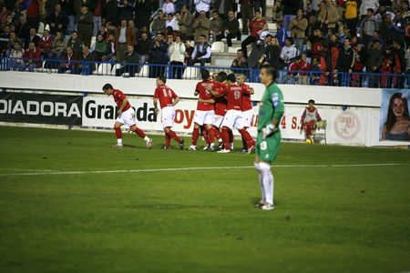 20071201- Motril - Granada - Spain - Football game between the Granada 74 and Sporting Gijon