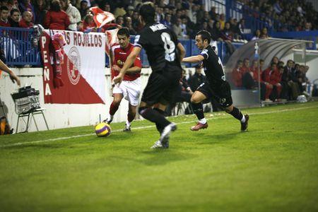 20071201- Motril - Granada - Spain - Football game between the Granada 74 and Sporting Gijon Editorial