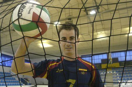 declared: 20071201-Granada-Spagna-Guille Hernan, calcio spagnolo giocatore di pallavolo, which has been declared europea campione