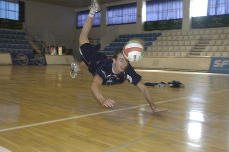 declared: 20071201-Granada-Spagna-Guille Hernan, pallavolo giocatore di calcio spagnolo, che � stata dichiarata europea campione