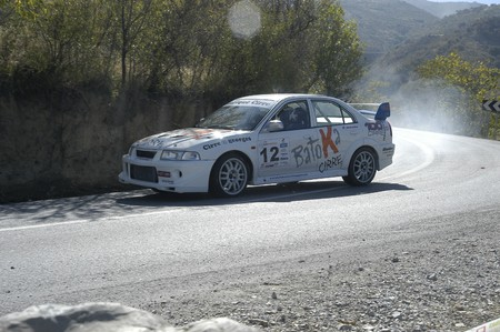 Granada, 13092008.- cars participating in the 2008 Rally