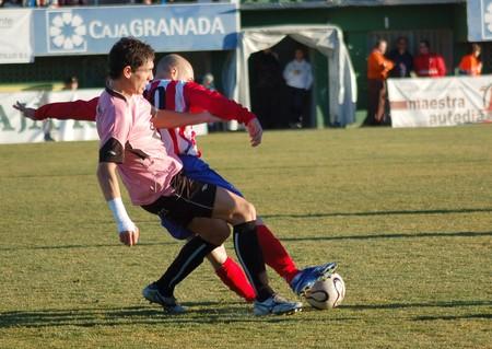 20080120- base - granada - spain - football game between base and alcalá