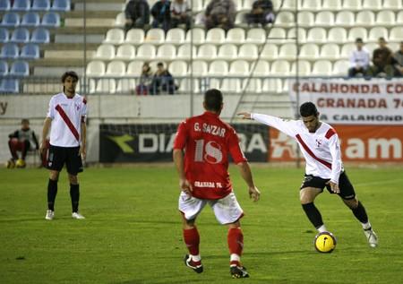 20080119- Motril - Granada - Spain - Football game between the Granada 74 and Sevilla Atletico