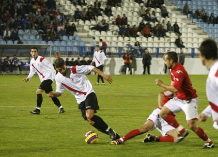 20080119- Motril - Granada - Spain - Football game between the Granada 74 and Sevilla Atletico Editorial