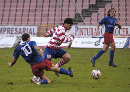 20080113- Granada - Spain - Football game between the Granada CF and Puertollano Editorial