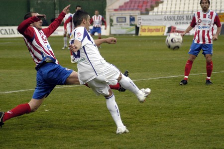 20080217- Baza - Granada - Spain - Football game between the and Baza Jaén