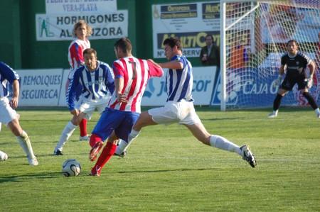 20080302- Baza - Granada - Spain - Football game between Baza and Talavera