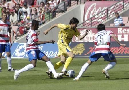 20100510- Granada - Spain - Football game between the Granada CF against Alcorcón, in the fight for promotion to first division