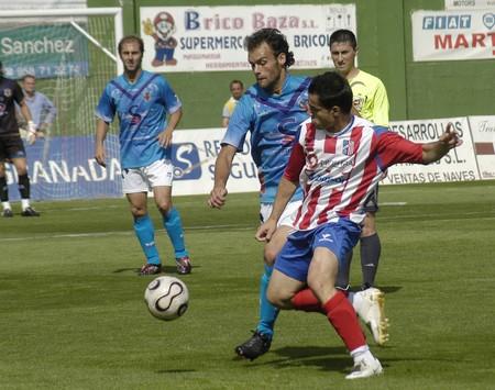 20080427- Baza-Granada - Spain - Football game between Mazarron and Baza Editorial