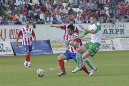 20080525- Baza-Granada - Spain - Football game between Baza and Santa Brigida og Canarias
