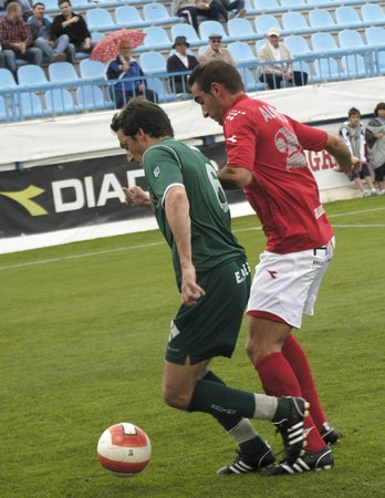 20080510- Motril-Granada - Spain - Football game between the Granada 74 and Racing of the Ferrol Editorial