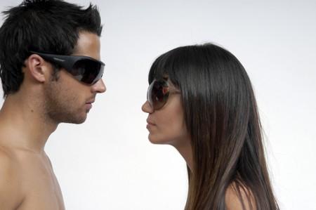 couple wearing sunglasses Stock Photo - 7406874