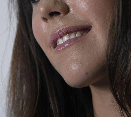 Beautiful brunette young woman Stock Photo - 7501736