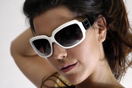 Beautiful brunette young woman Stock Photo - 7501945