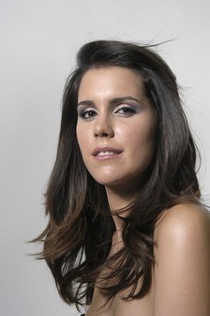 Beautiful brunette young woman Stock Photo - 7502076