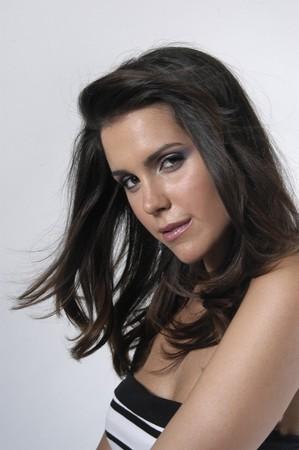 Beautiful brunette young woman Stock Photo - 7501975