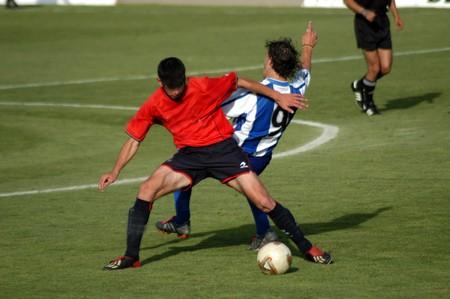 Football match photo