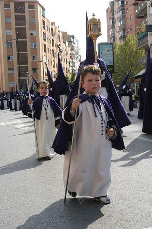 processions: 20040406 - Granada - Spain - Easter processions in the city of Granada, Spain