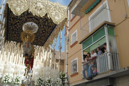 evoke: 20040406 - Granada - Spain - Easter processions in the city of Granada, Spain