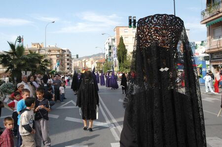 20040406 - Granada - Spain - Easter processions in the city of Granada, Spain