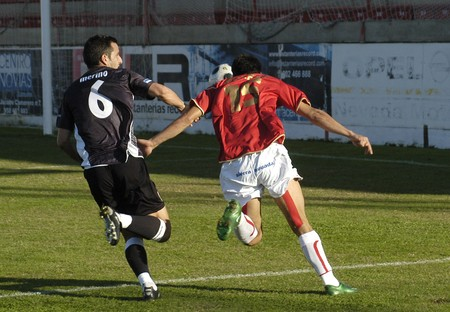 2008/11/09-Spain-Granada - Football game between the Granada 74 and San Fernando in the city of Granada / Spain Stock Photo - 7536823