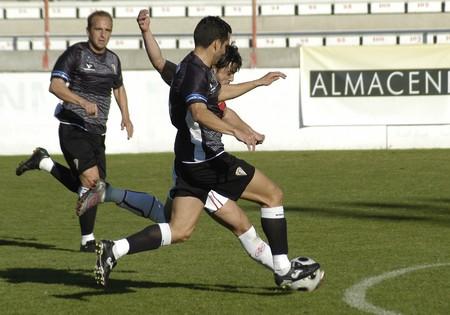 2008/11/09-Spain-Granada - Football game between the Granada 74 and San Fernando in the city of Granada / Spain Stock Photo - 7536808