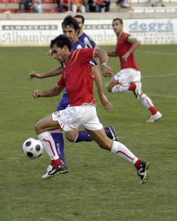 2008/09/24-Spain-Granada - Football game between the Granada 74 and Jaen in the city of Granada / Spain Stock Photo - 7536973