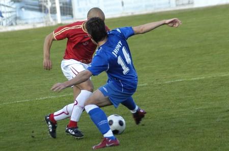 20081026-Spain-Granada - Football game between the Granada 74 and Portuense in the city of Granada  Spain