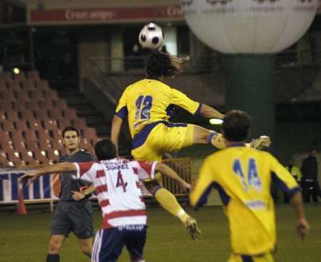 2008/12/04-Spain-Granada - Football game between the Granada CFand Cádiz CF  in the city of Granada / Spain  Stock Photo - 7537047