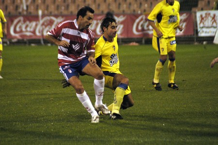 2008/12/04-Spain-Granada - Football game between the Granada CFand Cádiz CF  in the city of Granada / Spain     Stock Photo - 7537112