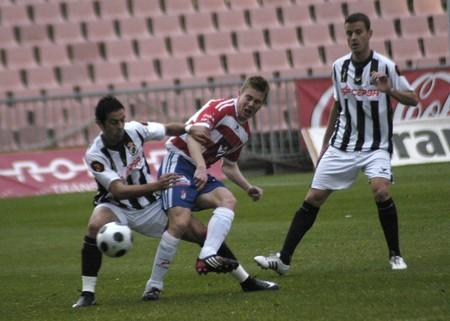 2008/11/30-Spain-Motril - Granada - Football game between the Granada CF and Linense in the city of Granada / Spain Stock Photo - 7537100