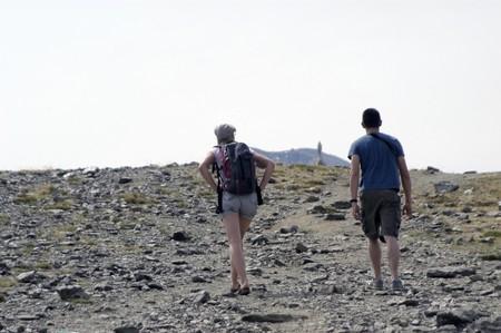 Trekking in Sierra Nevada Stock Photo - 7557532
